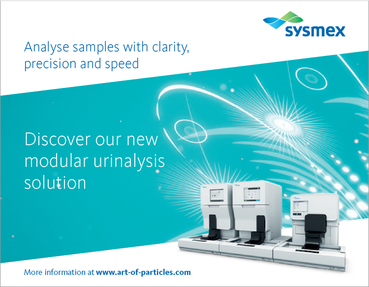 UN Series. The latest in urinalysis technology.